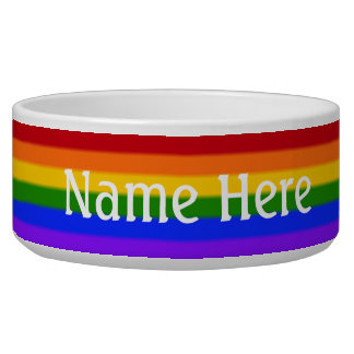 Falln Gay Pride Flag Bowl