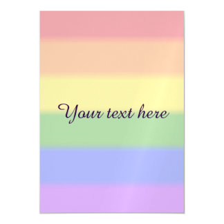 Falln Gay Pride Flag Magnetic Card