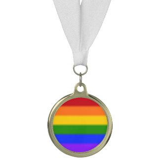 Falln Gay Pride Flag Medal