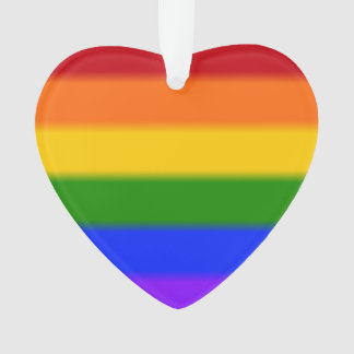 Falln Gay Pride Flag Ornament