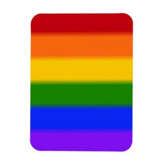 Falln Gay Pride Flag Rectangular Photo Magnet