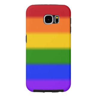 Falln Gay Pride Flag Samsung Galaxy S6 Case