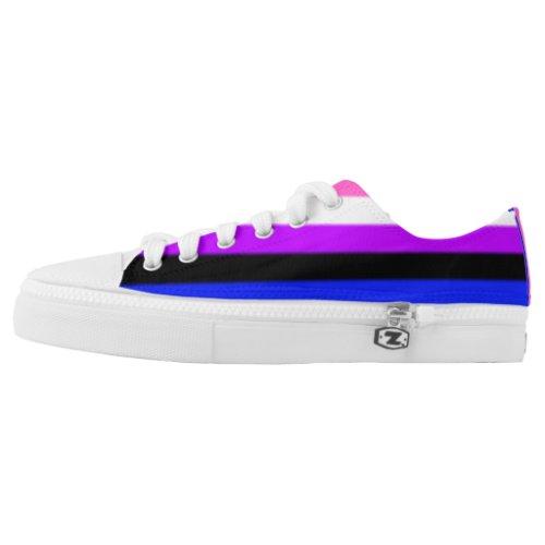 Falln Genderfluid Pride Flag Low_Top Sneakers