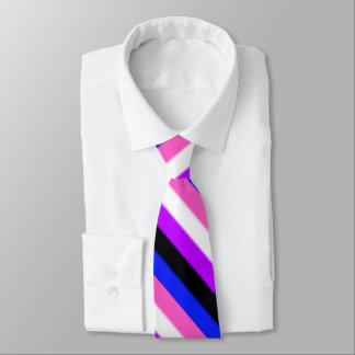 Falln Genderfluid Pride Flag Neck Tie
