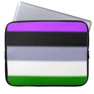 Falln Genderqueer Pride Flag Computer Sleeve