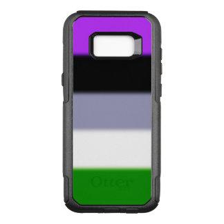Falln Genderqueer Pride Flag OtterBox Commuter Samsung Galaxy S8+ Case