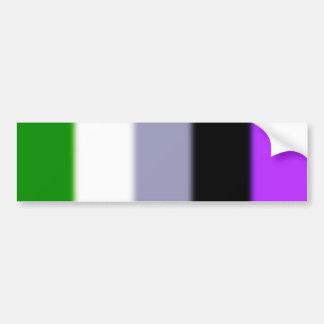 Falln Genderqueer Pride Flag Version 2 Bumper Sticker