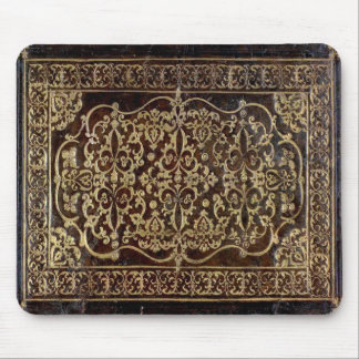 Falln Gilded Leather Tome Book Mouse Pad