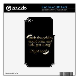 Falln Goblins Take You Away iPod Touch 4G Skin