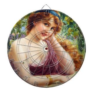 Falln Goddess of Summer Dart Board