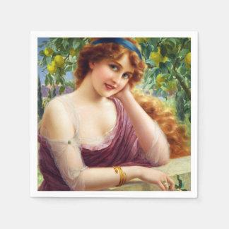 Falln Goddess of Summer Napkin