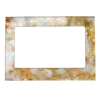 Falln Gold Rippled Marble Magnetic Picture Frame