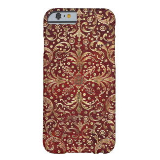 Falln Gold Swirled Red Book Barely There iPhone 6 Case