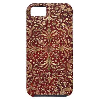 Falln Gold Swirled Red Book iPhone SE/5/5s Case