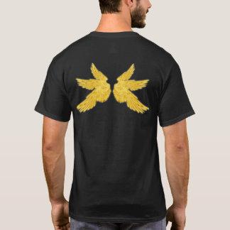 Falln Golden Archangel Wings T-Shirt
