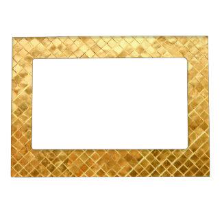 Falln Golden Checkerboard Magnetic Frame
