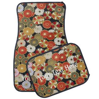Falln Golden Chrysanthemums Car Floor Mat
