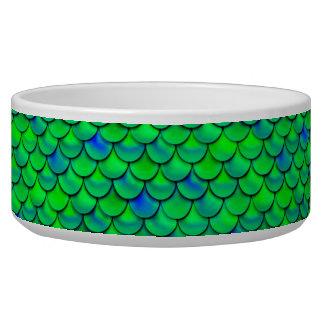 Falln Green Blue Scales Bowl