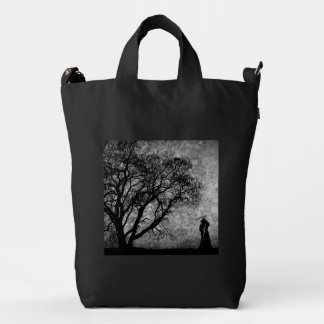 Falln Grim Reaper Original Art Boundaries Between Duck Bag