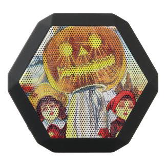 Falln Halloween Pumpkin Ghost Black Bluetooth Speaker