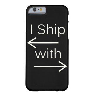 Falln I Ship It (You Choose Background Color!) 2 Barely There iPhone 6 Case