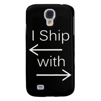 Falln I Ship It (You Choose Background Color!) 2 Galaxy S4 Cover