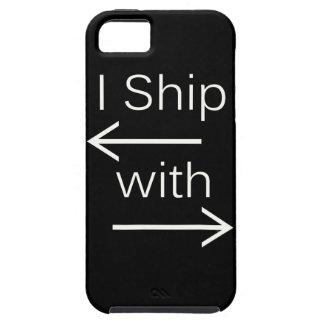 Falln I Ship It (You Choose Background Color!) 2 iPhone SE/5/5s Case