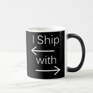 Falln I Ship It (You Choose Background Color!) 2 Magic Mug