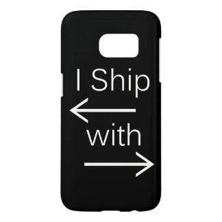 Falln I Ship It (You Choose Background Color!) 2 Samsung Galaxy S7 Case