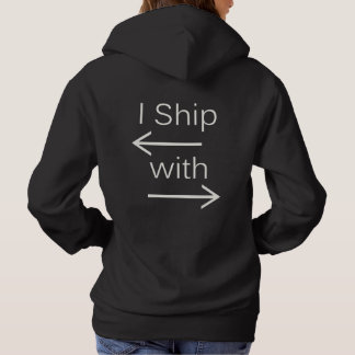 Falln I Ship It (You Choose Background Color!) Hoodie