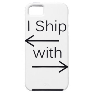 Falln I Ship It (You Choose Background Color!) iPhone SE/5/5s Case