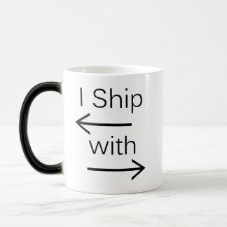 Falln I Ship It (You Choose Background Color!) Magic Mug