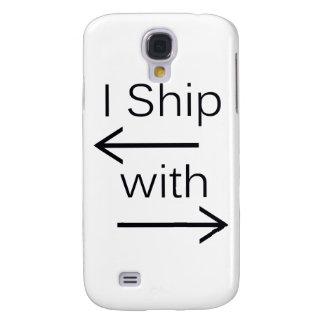 Falln I Ship It (You Choose Background Color!) Samsung S4 Case