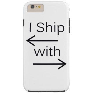 Falln I Ship It (You Choose Background Color!) Tough iPhone 6 Plus Case