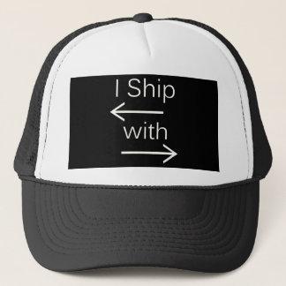 Falln I Ship It (You Choose Background Color!) Trucker Hat