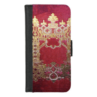 Falln Ink Stained Crimson iPhone 8/7 Wallet Case