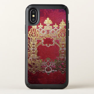 Falln Ink Stained Crimson Speck iPhone X Case