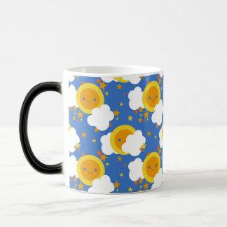 Falln Kawaii Moon, Stars, Sunshine Magic Mug