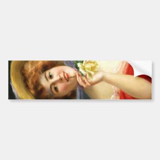Falln Lady in Red Bumper Sticker