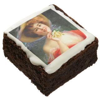 Falln Lady in Red Chocolate Brownie