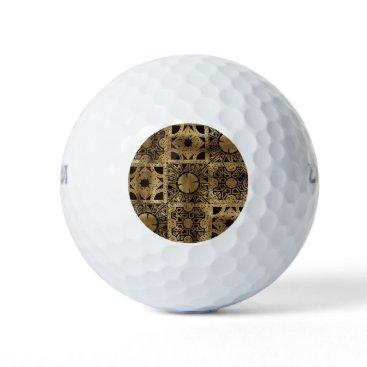 Halloween Themed Falln Lament Spread Golf Balls