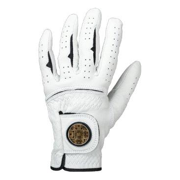 Halloween Themed Falln Lament Spread Golf Glove