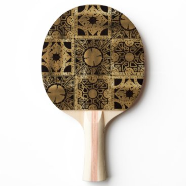Halloween Themed Falln Lament Spread Ping-Pong Paddle