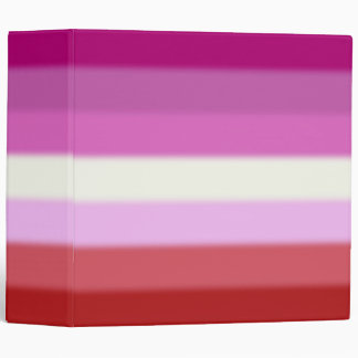 Falln Lesbian Pride Flag Binder