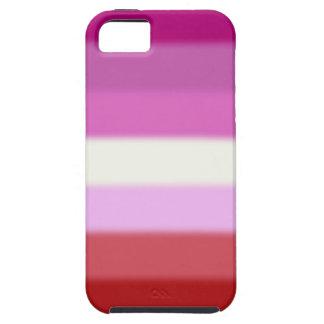 Falln Lesbian Pride Flag iPhone SE/5/5s Case