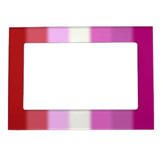 Falln Lesbian Pride Flag Magnetic Picture Frame