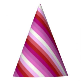 Falln Lesbian Pride Flag Party Hat