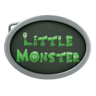 Falln Little Monster Oval Belt Buckle