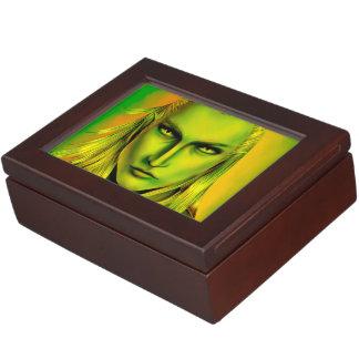 Falln Male Forest Elf Memory Box
