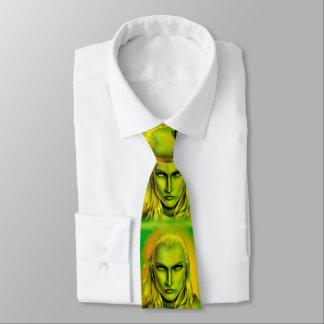 Falln Male Forest Elf Neck Tie